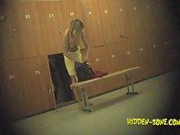 Lo1104# Voyeur video from locker room