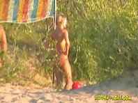 Nu1006# Voyeur video from nude beach