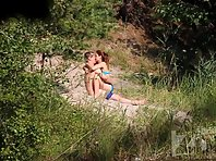 Nu1961# Voyeur video from nude beach