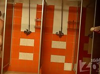 Sh1227# Slim girl washed in the shower completely naked. Our