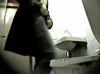 Wc146# Voyeur video from toilet
