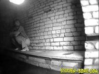 Wc644# Voyeur video from toilet