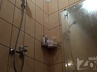 Sh1396# Blonde wiped off right in front of the lens Hidden cam shower. It seems that to her pussy