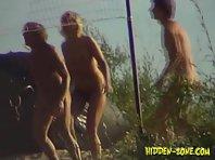 Nu487# Voyeur video from nude beach