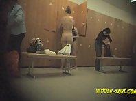 Lo1102# Voyeur video from locker room