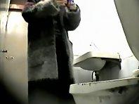 Wc136# Voyeur video from toilet