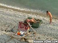 Nu166# Voyeur video from nude beach