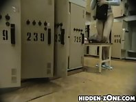 Lo69# Voyeur video from locker room