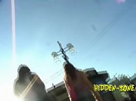 Up761# Upskirt video