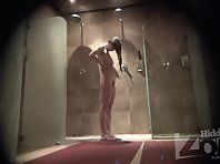 Sh1652# Our agents carried in the female shower Hidden cam shower. Women do not know anything. The c