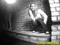Wc650# Voyeur video from toilet