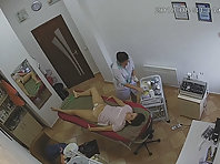 Spy camera in the beauty salon.