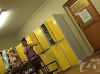 Lo1336# A few more naked women out of the shower and hit the lens of our hidden camera. Some young