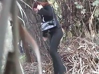 Wc482# Voyeur video from toilet