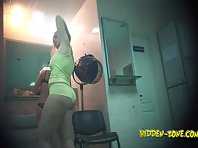 Lo1112# Voyeur video from locker room