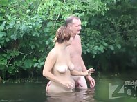 Nu1977# The man got everything he wanted. The couple went swimming again. Fuck, swim and fuck again