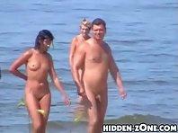 Nu309# Voyeur video from nude beach