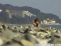 Nu386# Voyeur video from nude beach