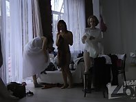 Sp1892# Beauties trying on beautiful dresses. Using spy sex cam we have a full effect of the prese