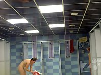 Sh1439# Hidden cam shower continued its shooting in the shower. Women do not suspect, and we can s