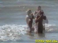 Nu438# Voyeur video from nude beach