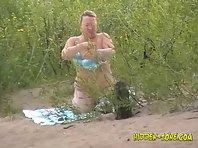 Nu669# Voyeur video from nude beach