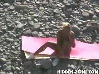 Nu85# Voyeur video from nude beach
