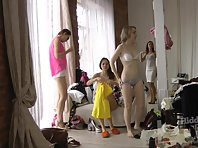 Sp1904# Apparently the girls underwear showing. They repeatedly disguised panties and bras. Every