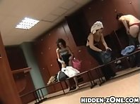 Lo220# Voyeur video from locker room