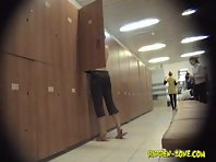 Lo1077# Voyeur video from locker room
