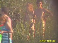 Nu1004# Voyeur video from nude beach