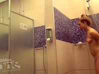 Sh1483# In this video, several women show us their secret places. It appears this is students - al