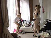 Sp1906# Girls shoot each other on mobile phones. They do not realize that spy sex cam also shoots