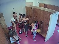 Lo1844# Many of us dreamed of looking into the women's locker room. On our website you can realize y