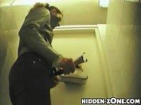 Wc68# Voyeur video from toilet