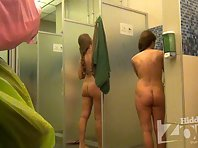 Sh1510# We set Hidden cam shower right in the women's shower room. It's a great place, there's a l