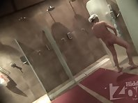 Sh1745# Cute blonde came to take a shower. She has a delicate white skin and a beautiful body. The b