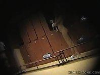 Lo386# Voyeur video from locker room