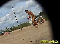 Nu490# Voyeur video from nude beach