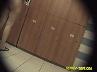 Lo1076# Voyeur video from locker room