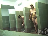 Sh1951# Our hidden camera in the shower is very well camouflaged. Women do not notice anything and s