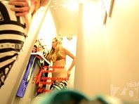 Sp2026# The girl in the dressing room is very good! It's hard to take your eyes off her naked body.