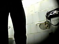 Wc134# Voyeur video from toilet