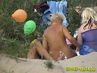 Nu451# Voyeur video from nude beach