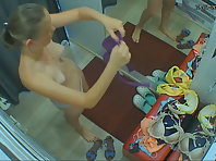 Spycam in the dressing room