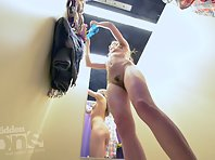 Sp2100# The girl completely undressed and got very good shots with a pleasant view. We can consider