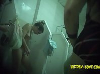Sh859# Voyeur video from shower