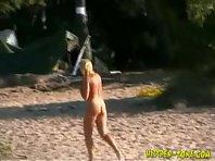 Nu466# Voyeur video from nude beach