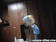 Lo231# Voyeur video from locker room