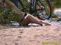 Nu737# Voyeur video from nude beach